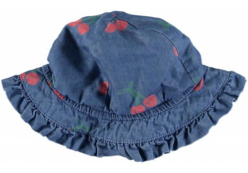 Stella McCartney Kids Cherry Chambray Hat Cherry Aop On Chambr