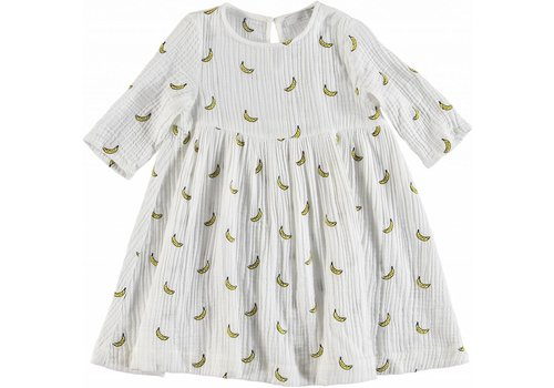 Stella McCartney Kids Embro Bananas Dress Embro Small Banana D