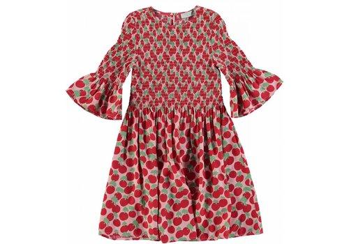 Stella McCartney Kids Cherry Smock Dress Cherry Spot On 1base