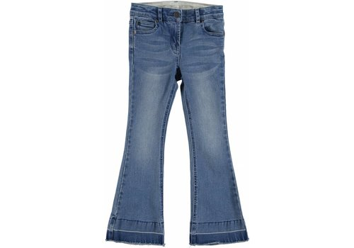 Stella McCartney Kids Skinny Flare Denim Long Trs Light Denim