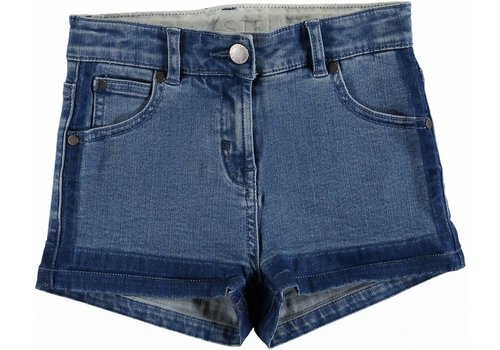 Stella McCartney Kids Denim Short Trs Light Denim