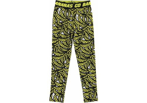 Stella McCartney Kids Bananas Leggings Bananas Aop