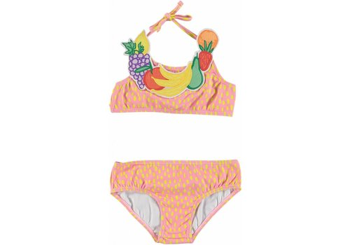 Stella McCartney Kids Fruit Necklace Bikini Painted Dots On 4bas