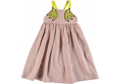 Stella McCartney Kids Bananas Patch Dress Pearl Pink