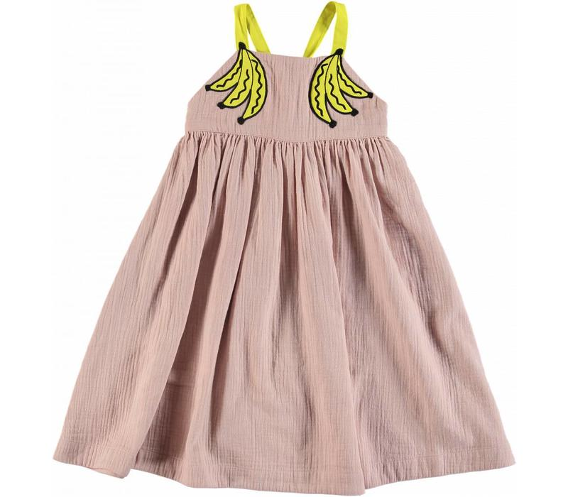 Bananas Patch Dress Pearl Pink