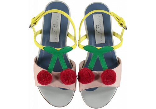 Stella McCartney Kids Cherry Sandals Pearl Pink