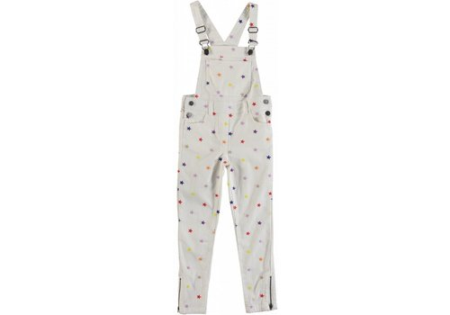 Stella McCartney Kids Multic.Embro Stars Denim Dunga Embr Multicol Stars