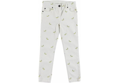 Stella McCartney Kids Bananas Long Denim Trs Small Banana Aop Den