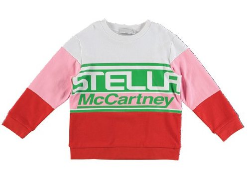 Stella McCartney Kids Stella Logo Sweat Rasberry