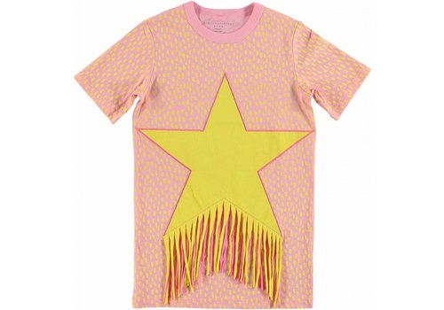 Stella McCartney Kids Friged Star Dress Painted Dots On 4bas
