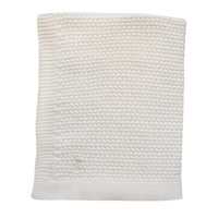 BABY SOFT KNITTED BLANKET OFFWHITE