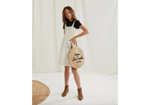 Les Coyotes de Paris Isa-Mae Dress, Offwhite