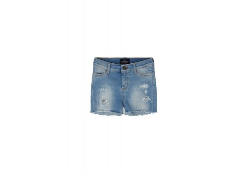 Designers Remix Girls LR Blue Moon Destroyed Sh, Light Denim
