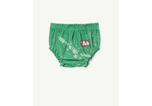 The Animals Observatory TOADS BABIES CULOTTE  GREEN SPLASHES