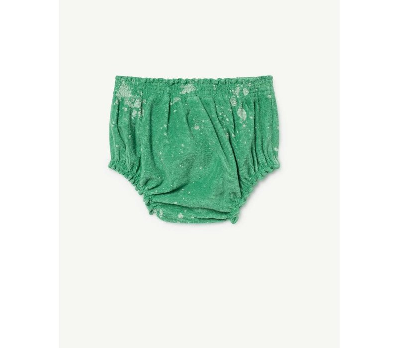 TOADS BABIES CULOTTE  GREEN SPLASHES