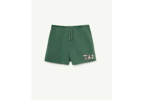 The Animals Observatory HEDGEHOG KIDS SHORTS  GREEN TAO