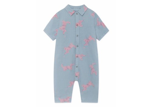BOBO CHOSES Dogs Playsuit