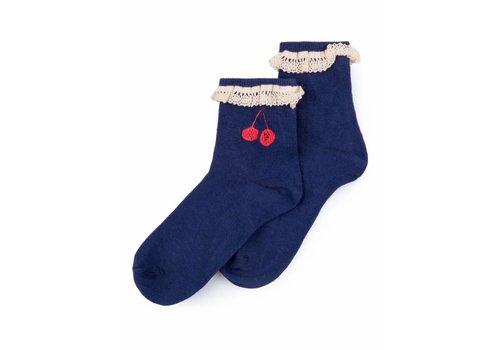 BOBO CHOSES Cherry Short Socks