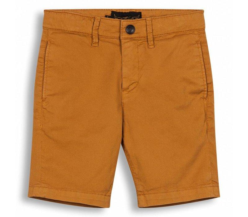 Allen Ocher-Boy Woven Chino Fit Bermuda Shorts