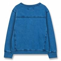 Brian Kraft Blue-Boy Knitted Crew Neck Sweatshirt