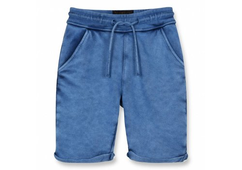 Finger in the nose Grounded Kraft Blue-Boy Knitted Fleece Comfort Fit Bermudas