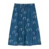 Birds Midi Skirt