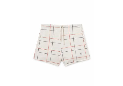 BOBO CHOSES Lines White Shorts