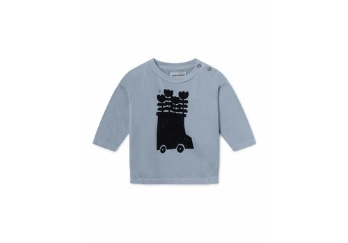 BOBO CHOSES Flowers Bus Round Neck Sweatshirt