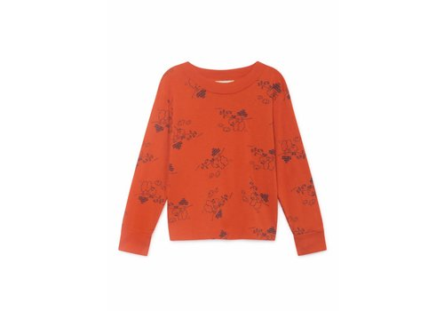 BOBO CHOSES Tangerine Long Sleeve T-Shirt