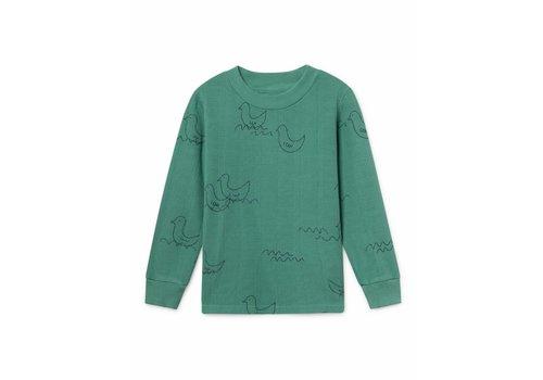 BOBO CHOSES Geese Long Sleeve T-Shirt