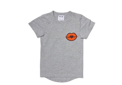 CarlijnQ Kiss Goodbye - T-Shirt Short Sleeve Drop Back