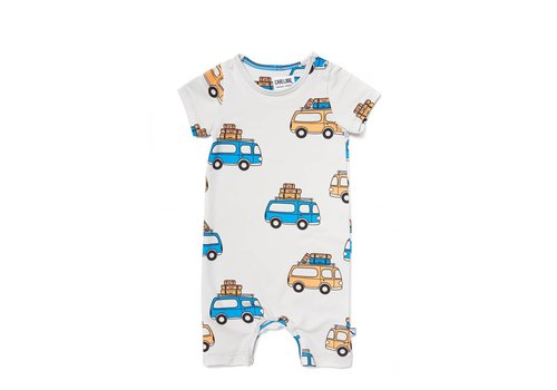 CarlijnQ Road Trippin' - Jumpsuit Short Sleeves / Legs