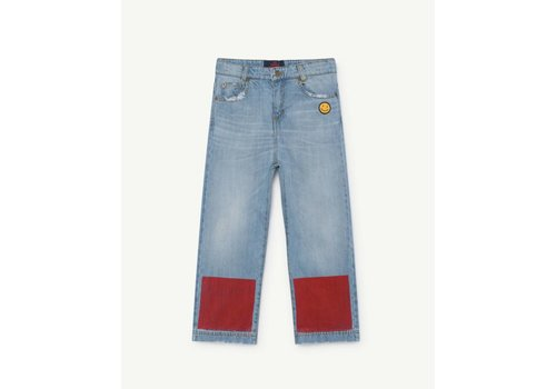The Animals Observatory ANT KIDS PANTS  INDIGO COLOR