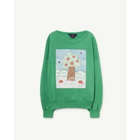 BIG BEAR KIDS SWEATSHIRT  GREEN LANDSCAPE