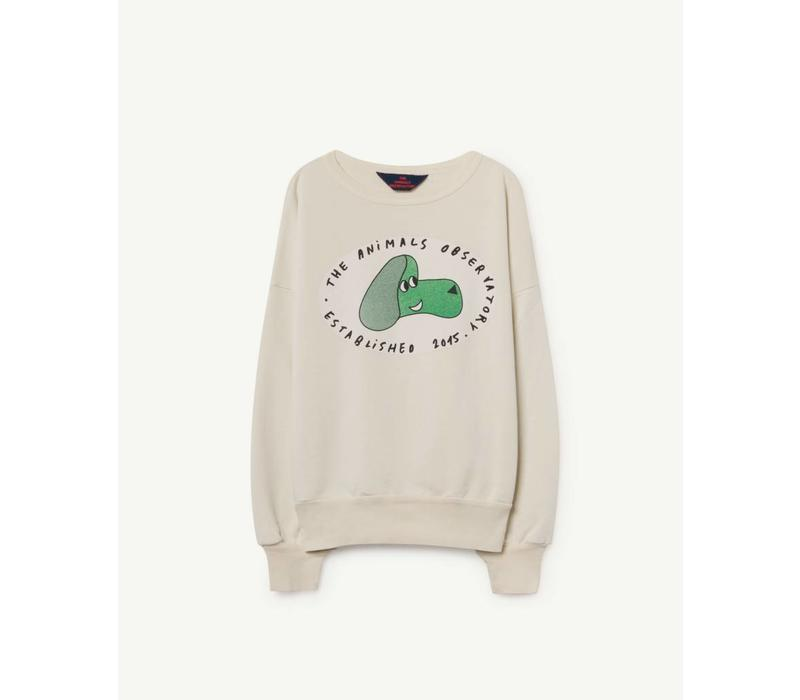BIG BEAR KIDS SWEATSHIRT  WHITE DOG