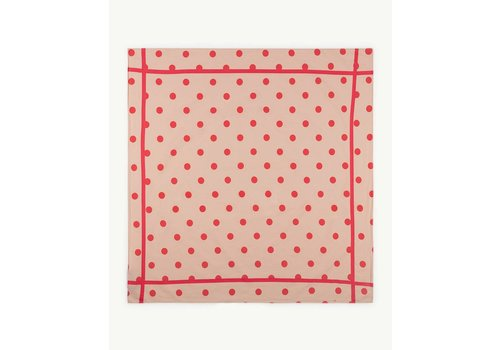 The Animals Observatory RAY  SCARF  TOASTED ALMOND POLKA