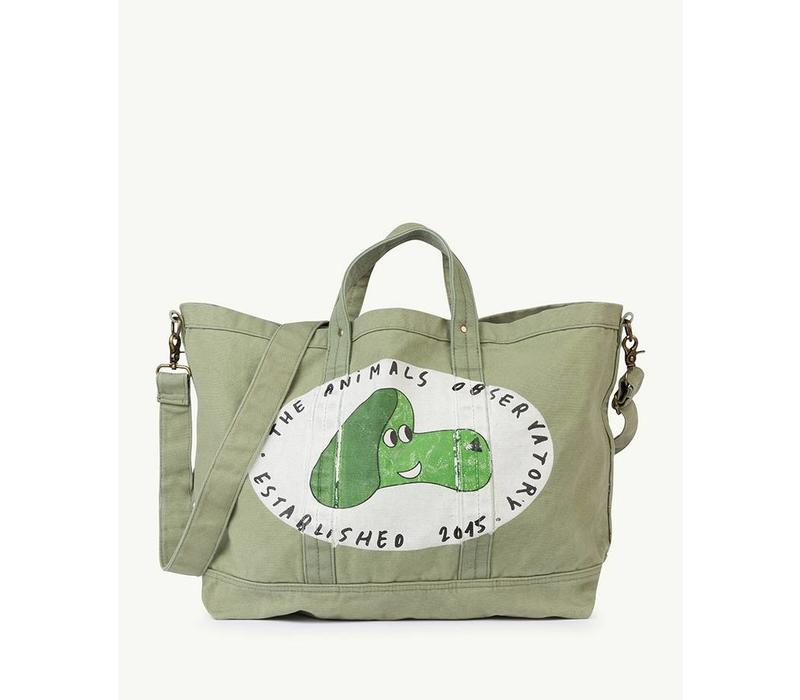 BIG CANVAS TOTE ONESIZE BAG  MILITARY GREEN