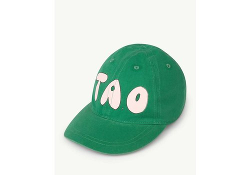 The Animals Observatory HAMSTER KIDS ONESIZE CAP  GREEN GRASS TAO