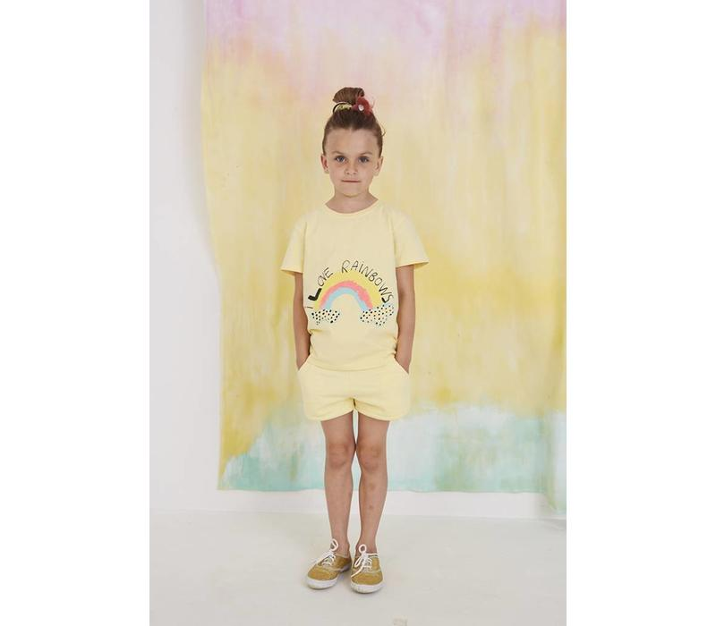 Bass T-shirt French Vanilla, Rainbow
