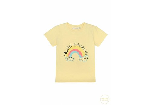 Soft Gallery Bass T-shirt French Vanilla, Rainbow