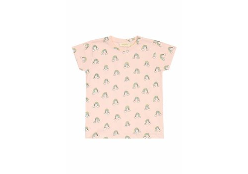 Soft Gallery Pilou T-shirt Pale Dogwood, AOP Lucky