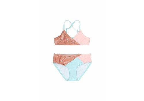 Soft Gallery Deidre Bikini Block Swim Girl