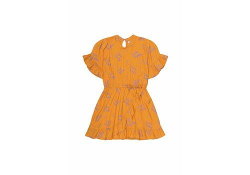 Soft Gallery Dory Dress Sunflower, AOP Lemon