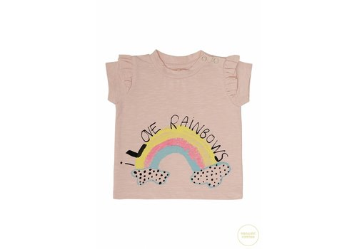 Soft Gallery Sif T-shirt Chintz Rose, Rainbow