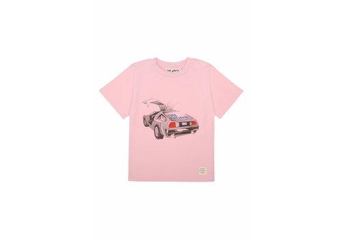 Soft Gallery Asger T-shirt Parfait Pink, Delorean