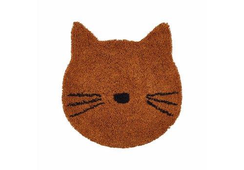 Liewood Bobby rug - Cat mustard