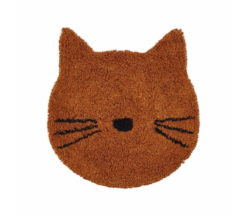 Bobby rug - Cat mustard