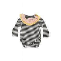 Anna Black and White stripe
