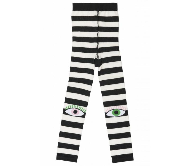 Bowie Black and white stripes
