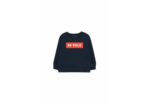 Tiny Cottons Be Bold Sweatshirt Navy/Red